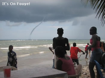 Tornado at the beach