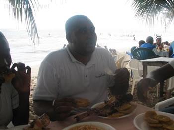 Sandy Beach In Haiti