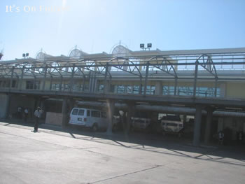 New gates being built in the Haiti airport