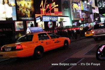 nyc yellow taxi cab
