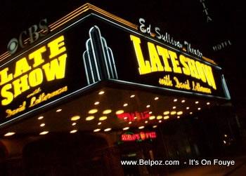 late show david letterman