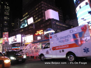 St Vincent's Hospital Ambulance NYC