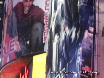One Times Square billboard