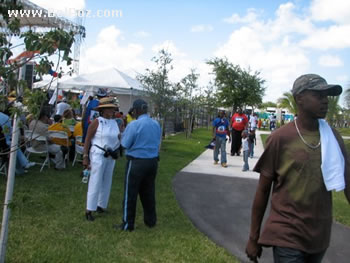 Little Haiti Park, Miami Florida