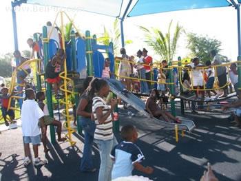A Children Play ground in Little Haiti FL