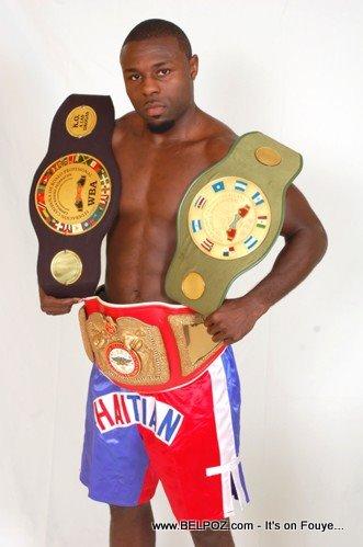 Haitian Boxer Daniel Edouard