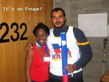 Yve-Car Momperousse, Haitian Student Convention, Rutgers University