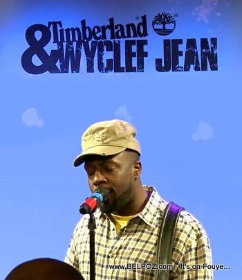 Timberland Earthkeepers Wyclef Jean Party