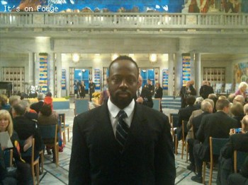 Wyclef at Nobel Prize Ceremony in Norway