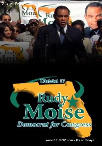 Rudy Moise, Democrat For Congress