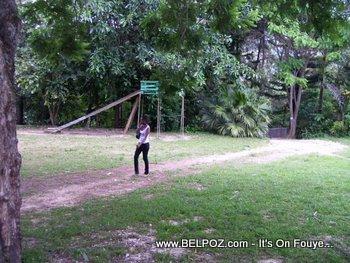haiti children's playground in Fermathe Haiti