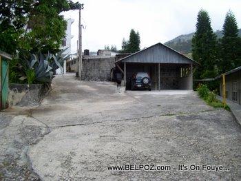 Behind the Baptist Haiti Mission