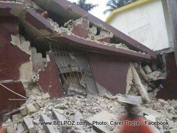 Tremblement De Terre en Haiti