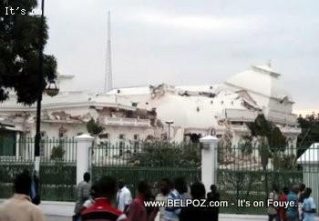 Haiti Presidential Palace Colapse