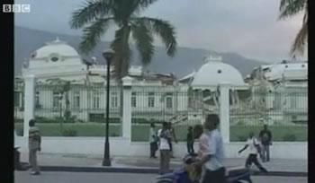 Haiti White House Collasped