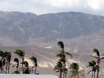 A Mountain Range By Ti Tanyen, Haiti