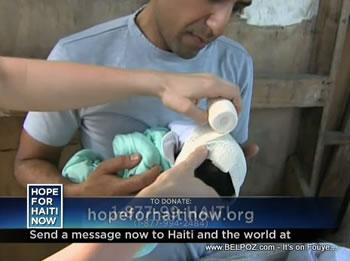 Sanjay Gupta Hope For Haiti Now Telethon