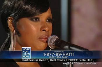 Jennifer Hudson Hope For Haiti Now Telethon