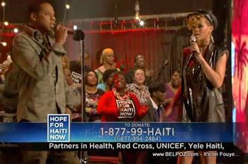Jay Z Rihanna Bono Hope For Haiti Now Telethon