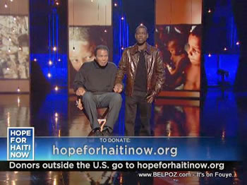Chris Rock Muhammad Ali Hope For Haiti Now Telethon
