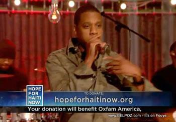 Jay Z Hope For Haiti Now Telethon