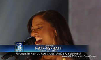 Madonna Hope For Haiti Now Telethon