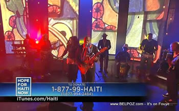 Wyclef Jean Hope For Haiti Now Telethon