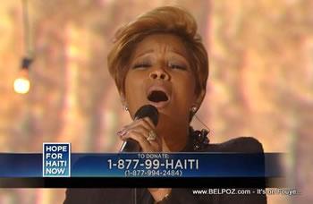 Mary J Blige Hope For Haiti Now Telethon