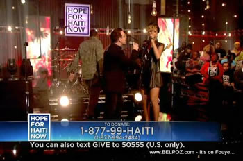 Jay Z Rihanna Bono Hope For Haiti Now Telethon