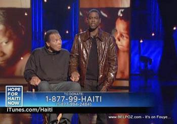 Chris Rock Muhammad Ali Hope For Haiti Now Telethon