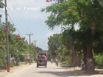 Downtown Arcahaie Haiti 4 Apr 04