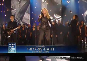 Madonna Hope For Haiti Now Telethon