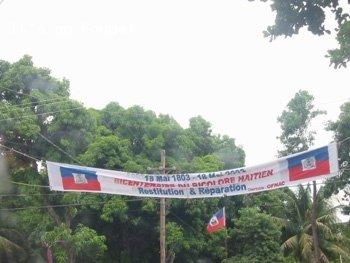 Downtown Arcahaie Haiti 8 Apr 04