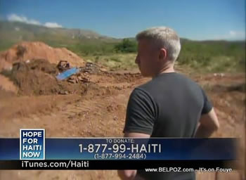 Anderson Cooper Hope For Haiti Now Telethon
