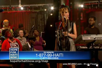 Rihanna Hope For Haiti Now Telethon