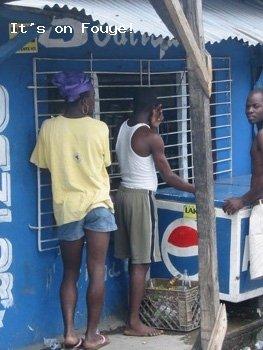 Downtown Arcahaie Haiti 23 Apr 04