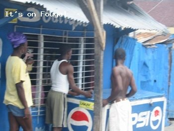 Downtown Arcahaie Haiti 25 Apr 04