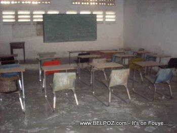 Ecole Frere Polycarpe Haiti Classroom