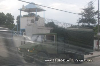 Army Truck In Haiti