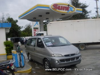 Sunix Gas Station Dominican Republic