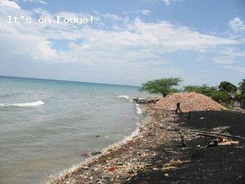Ocean view in Arcahaie, Haiti - Apr 2004