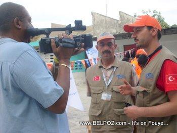 Kimse Yok Mu Haiti Earthquake Relief Carrefour Haiti