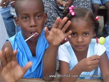 Haiti Kids, Earthquake Survivors