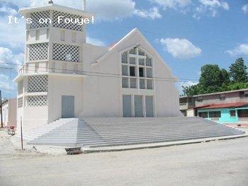 Eglise Catholique Saint Pierre, Arcahaie, Haiti