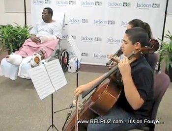 Haitian Violinist Romel Joseph Haiti Earthquake Survivors