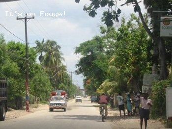 Downtown Arcahaie Haiti 2 Apr 04