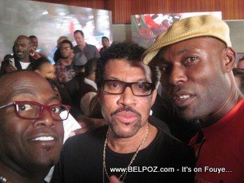 Randy Jackson Lionel Richie Jimmy Jean Louis We Are The World Haiti