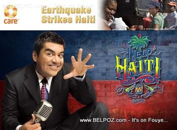 Georges Lopez - disaster relief for Haiti
