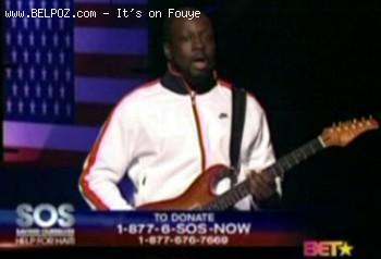 Wyclef, Barikad Crew Rockfam - BET SOS Help For Haiti