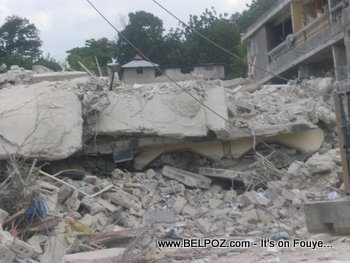 Haiti Earthquake Damages Carrefour Haiti